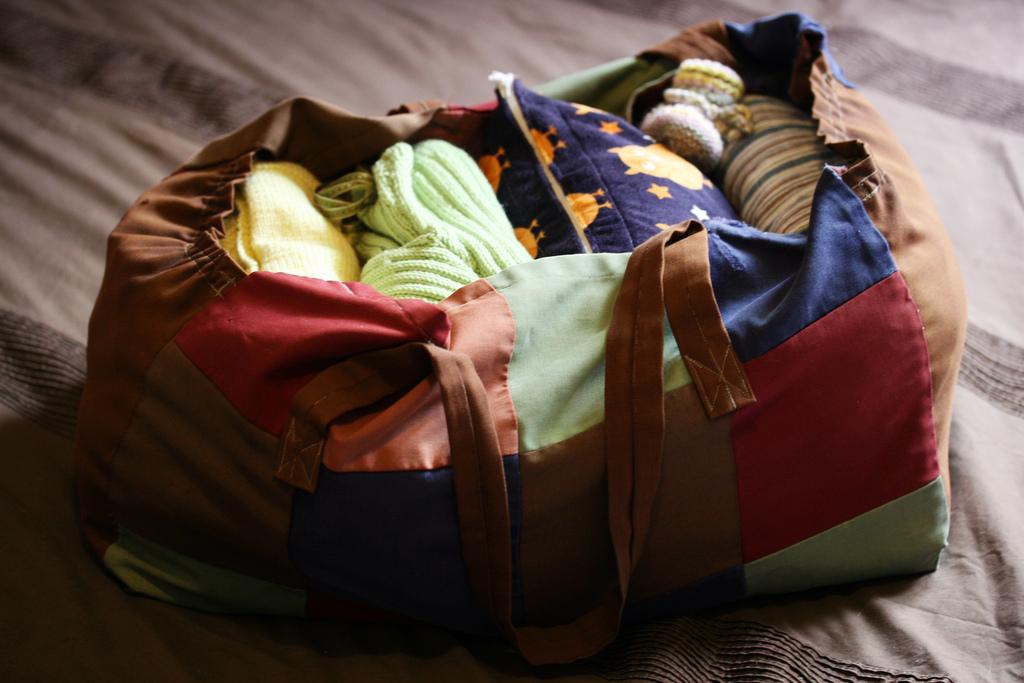 Come ricordarsi cosa mettere in valigia per i bimbi