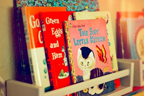 Come tenere in ordine i libri dei bambini