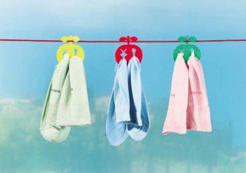 Come tenere i calzini appaiati