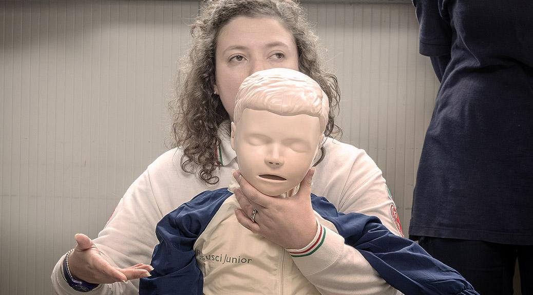 Come fare la manovra di disostruzione pediatrica