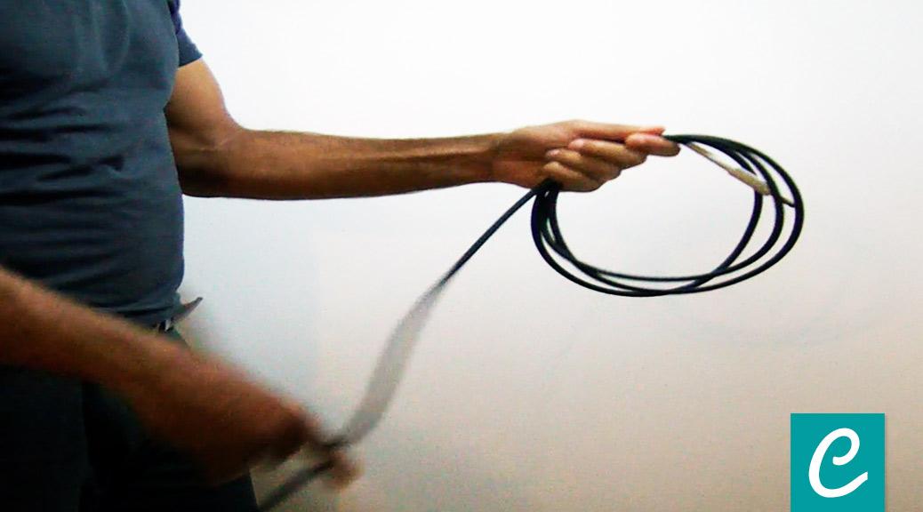 Come tenere in ordine i cavi lunghi