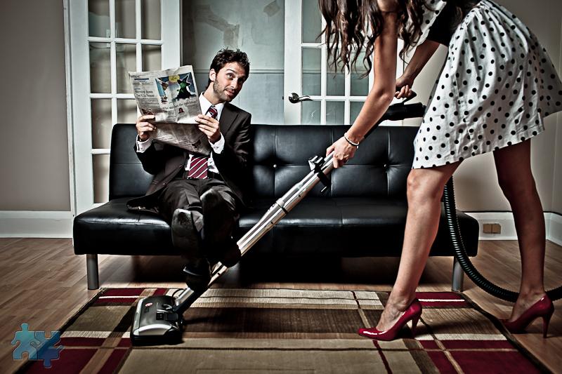 Come farsi aiutare dal marito nei lavori di casa
