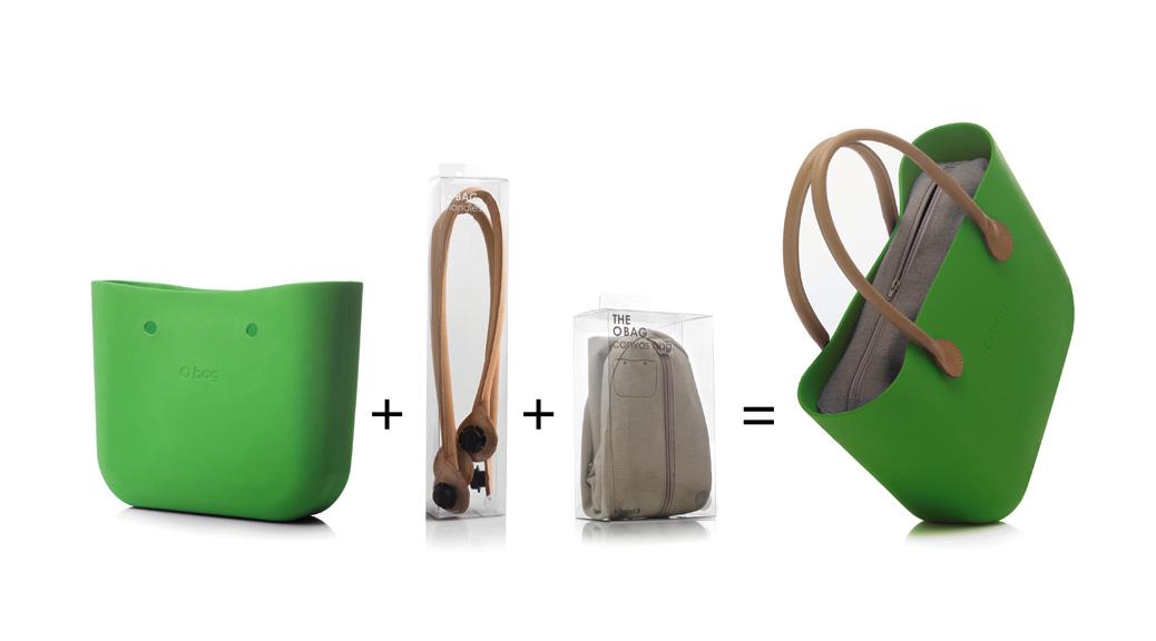 O bag la borsa di design personalizzabile for Interno o bag