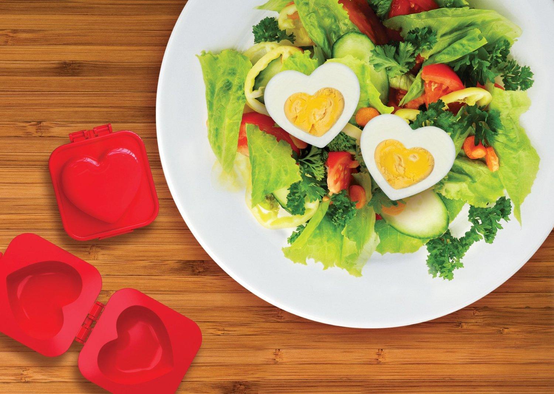 Come cucinare un uovo a forma di cuore