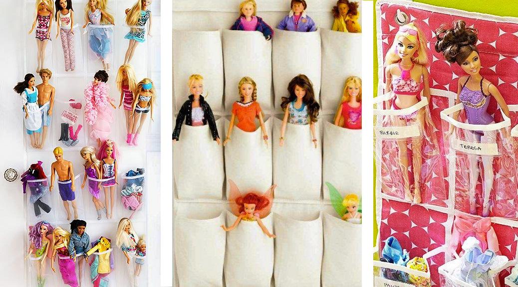 Come tenere in ordine le Barbie
